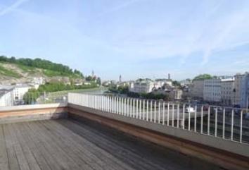 Terrassenwohnung Sahnestück mit Salzachblick