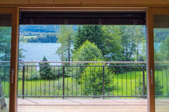 Country house lake romance