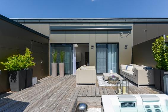 Dachgartenwohnung Delight