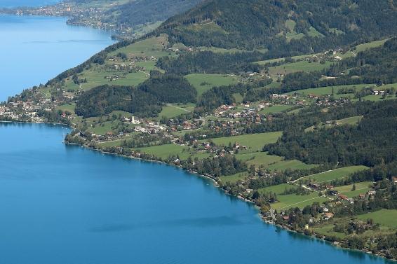 Steinbach at Lake Attersee