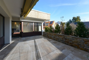 Terrassenwohnung Weiheridylle