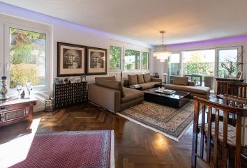 Apartment with garden Aesthete