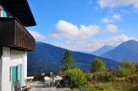 Panoramic plot for holiday chalet