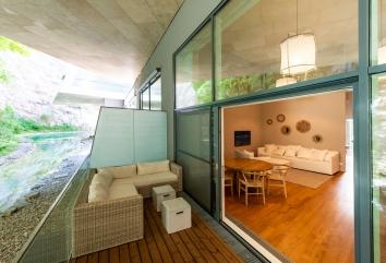 Terrassenwohnung Waldesruh